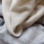 Ткани Deluxe. Feather Cashmere -  Oatmeal