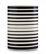 Ваза Jar-Bayadere (21х16х45) от Missoni черно-белая большая