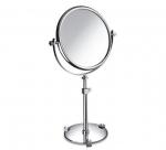 Зеркала косметические с подсветкой увеличением настенные настольные Зеркала с присосками. Зеркало настольное 99526CRB 7XOP (white) Moonlight Chrome Swarovski