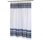 Шторки для душа и ванны текстильные. Шторка для ванной Fleur FSC-FL/24