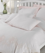 Постельное белье полутороспальное розовый (160х220) Acelya от Eke