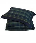 Постельное бельё. Постельное белье Kingston двуспальное евро (200х220) Зеленый от Casual Avenue