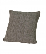 Декоративная подушка Boston (40х40) льняной (warm gray) от Casual Avenue