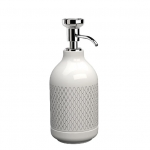 EQUILIBRIUM POMDOR Netting фарфоровые аксессуары для ванной дозатор хром