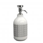 EQUILIBRIUM POMDOR Circles фарфоровые аксессуары для ванной дозатор хром
