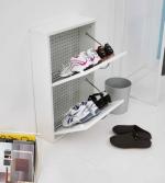 Итальянские постирочные раковины Мебель и оборудование для постирочной комнаты. Шкаф для обуви Colavene двойной