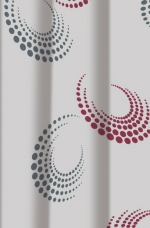 KLARA текстильная шторка для душа и ванны
