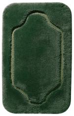 COUNTRY коврик для ванной комнаты Nicol Зелёный с золотым/серебряным люрексом