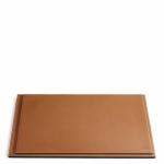 Ralph Lauren Home BRENNAN SADDLE коричневый планшет для письменного стола кожаный большой