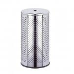 WASH BOX Mini Nicol Корзина для белья с крышкой круглая металлическая