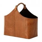 Eichholtz Brunello 106207 кожаная газетница напольная сумка коричневая