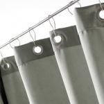 Шторки для душа и ванны текстильные