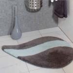 Коврики для ванной комнаты. Malta Nicol коврик для ванной графит/светло-синий