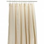 Текстильные шторки для ванны и душа Бежевая Beige