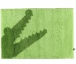 Коврики для ванной комнаты. CROC коврик для ванной Крокодил зелёный