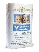 Nesti Dante Hypo-Allergenic Carolina e Eduardo Мыло гипоаллергенное деликатное Каролина и Эдуардо 250 г