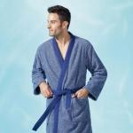Халат кимоно мужской (M; L; XL;) Neptune (Нептун) от Yves Delorme