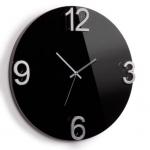 Часы настенные Elapse черные