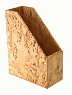 Wood Collection аксессуары для рабочего стола накопитель для бумаг Берёза карельская