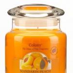 Ароматическая свеча Мандарин и персик