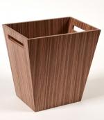 Аксессуары для кабинета Deluxe. Wood Collection ведро деревянное Орех
