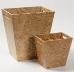 Аксессуары для кабинета Deluxe. Wood Collection ведро деревянное Ясень