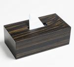Аксессуары для кабинета Deluxe. Wood Collection салфетница деревянная Эбеновое дерево