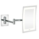 Aliseo Led Lunatec Minimalist прямоугольное косметическое зеркало с увеличением х3 и подсветкой двойной шарнир