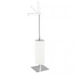 Bologna Nicol стойка для запасных рулонов туалетной бумаги квадратная для 5-ти рулонов квадратное основание