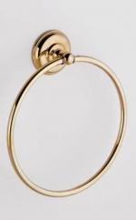 Аксессуары для ванной с кристаллами Swarovski Rifles полотенцедержатель кольцо золотой