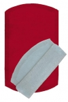 Twins Nicol коврик для ванной комнаты хлопковый двухсторонний красный