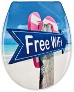FREE WiFi сиденье для унитаза с крышкой