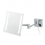 Olivia Nicol квадратное настенное косметическое зеркало с подсветкой LED и увеличением 1х5