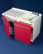 Мебель для постирочной Active Wash Colavene, Глубокая раковина для стирки с крылом для стиральной машины