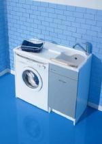 Мебель постирочная Глубокая раковина для стирки с крылом для стиральной машины Colavene