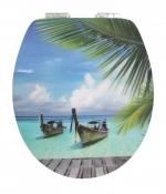 Сиденья для унитаза с крышкой. Curacao сиденье с крышкой для унитаза 3D-декор