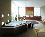 Jacuzzi ванна угловая с гидромассажем Aura Corner.