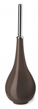TROPFEN Nicol фарфоровый ёршик для унитаза напольный необычный Коричневый