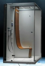 Jacuzzi душевая кабина Omega White белый/хром