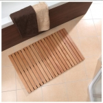 Коврики для ванной комнаты. Деревянная решётка коврик для ванной комнаты Wilma
