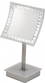 Thea Nicol зеркало с увеличением 1х5 и подсветкой LED косметическое настольное