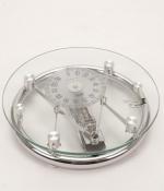 Весы напольные механические прозрачные стеклянные стрелочные
