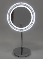 Зеркало косметическое с подсветкой Cosmetic настольное с увеличением 1х5