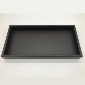 Аксессуары и Мебель для дома. Samurai кожаный лоток поднос прямоугольный тёмно-коричневый