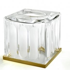 Салфетницы настольные настенные. Montblanc Crystal хрустальная салфетница куб