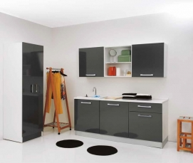 Итальянские постирочные раковины Мебель и оборудование для постирочной комнаты. Постирочная мебель Antracite Colavene постирочная раковина встроенная композиция