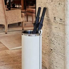 Подставки для зонтов. Pinetti Umbrella Stand подставка для зонтов декор кожа хром