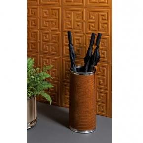 Подставки для зонтов. Pinetti Umbrella Stand Camel подставка для зонтов декор кожа хром
