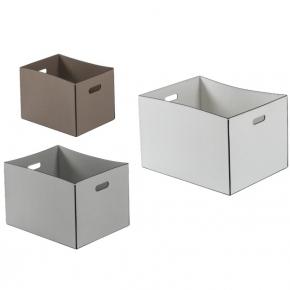 Хранение и порядок. MAREA ёмкости для хранения кожаные коробки