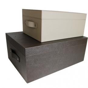 Хранение и порядок. Pinetti Ares Liverpool кожаная коробка универсальная ёмкость декорированная